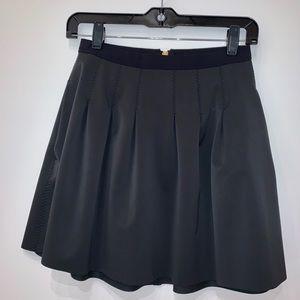 Black Lululemon Skirt with zipper